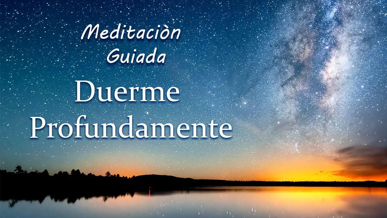 Duerme Profundamente, Despierta con Energía, Meditación Guiada Relajante para el Insomnio.