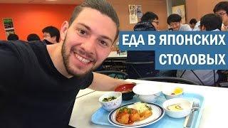 Еда в японских столовых + мини-тур по Университету Цукубы