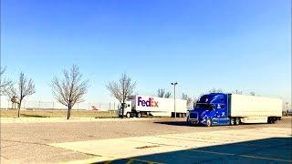 Дальнобой USA/ FedEx Почта...Memphis TN...