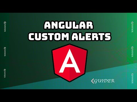 How to create alerts in Angular Quickly - SE TECH