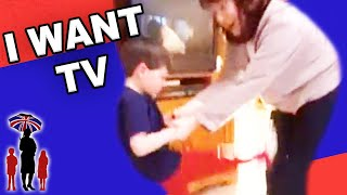 Bored Kids Watch TV all Day Long Angry Kids Supernanny