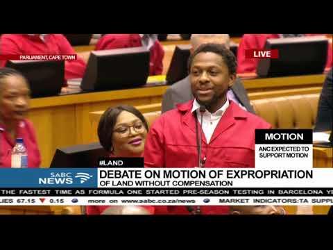 EFF's Ndlozi welcomes Nhlanhla Nene from 'BRICS Bank'