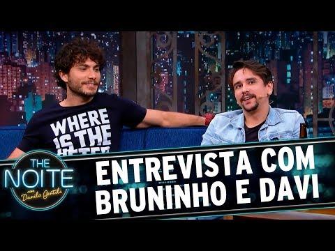 Entrevista com Bruninho e Davi | The Noite (20/09/17)