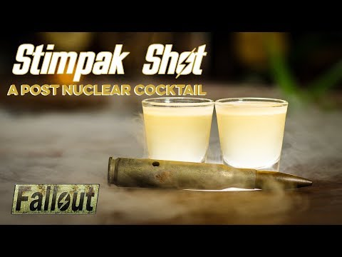 Fallout Stimpak Shot | How to Drink