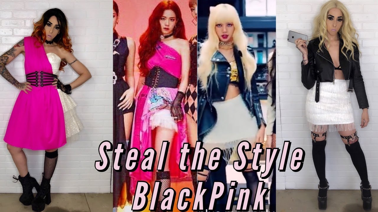 Steal The Style Recreating Blackpink Kill This Love Mv Outfits Punky Dani Youtube