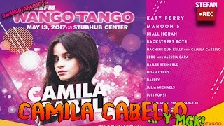 camila cabello y mgk en wango tango 2017   bad things