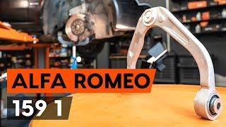 Wie ALFA ROMEO 159 Sportwagon (939) Spurlenker austauschen - Video-Tutorial