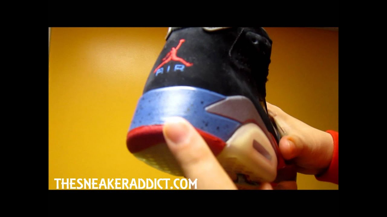 b5c9a03173f11d Air Jordan Detroit Pistons VI 6 Sneaker Review W   DjDelz - YouTube