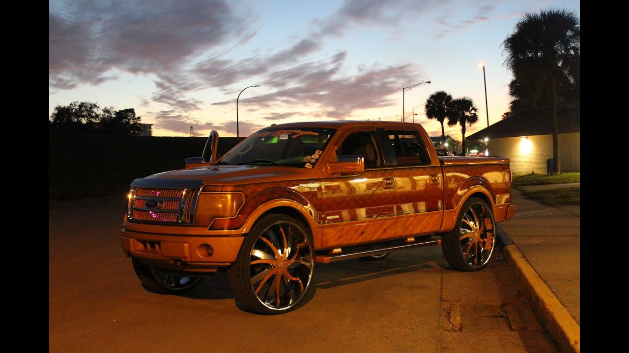 """Ford F150 King Ranch >> Veltboy314 - Custom Painted King Ranch F-150 on 34"""" Starr ..."""