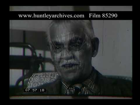 Boris Karloff Interview, 1960s - Film 85290
