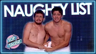 NAUGHTY LIST | Rudest Auditions On Got Talent And Idol! | Top Talent