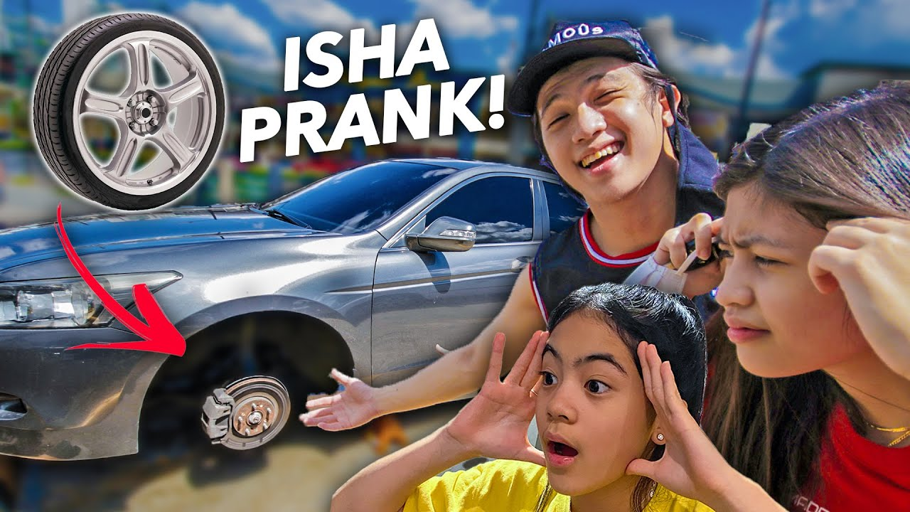 WHEELS Got Stolen Prank On Sister SEAH! (ISHA PRANK!) | Ranz and niana