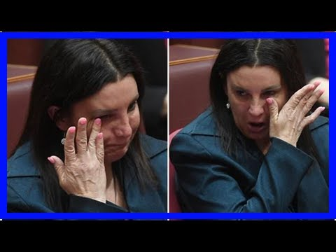 News-24/7 feelings jacqui lambie fought back tears as she resigned from the Senate