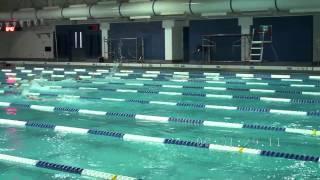 USA Modern Pentathlon Swim 12-17-2011