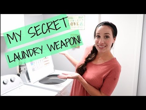 MY LAUNDRY ROUTINE! --MY SECRET WEAPON FOR GOOD SMELLING LAUNDRY!