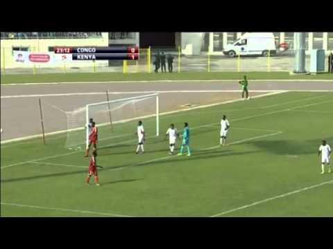 CONGO Vs KENYA 1 - 1  (AFCON 2017 QUALIFIERS)