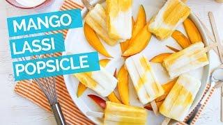 Mango Lassi Popsicle Recipe