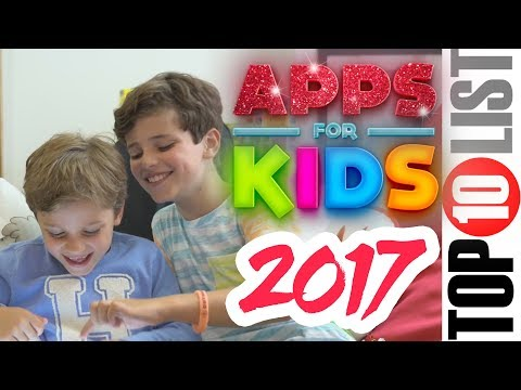 Top 10 Best Apps for Kids iPhone & iPad 2017 Age 6-10+
