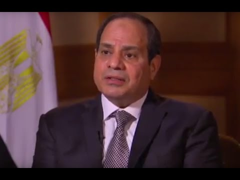 PREVIEW: Egyptian President el-Sisi on relations with President Obama and President Trump