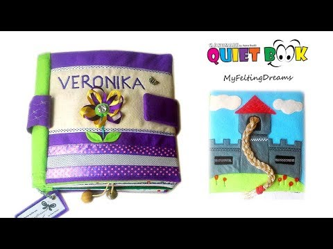 15. Quiet book for Veronika - handmade by Petra Radic, My Felting Dreams