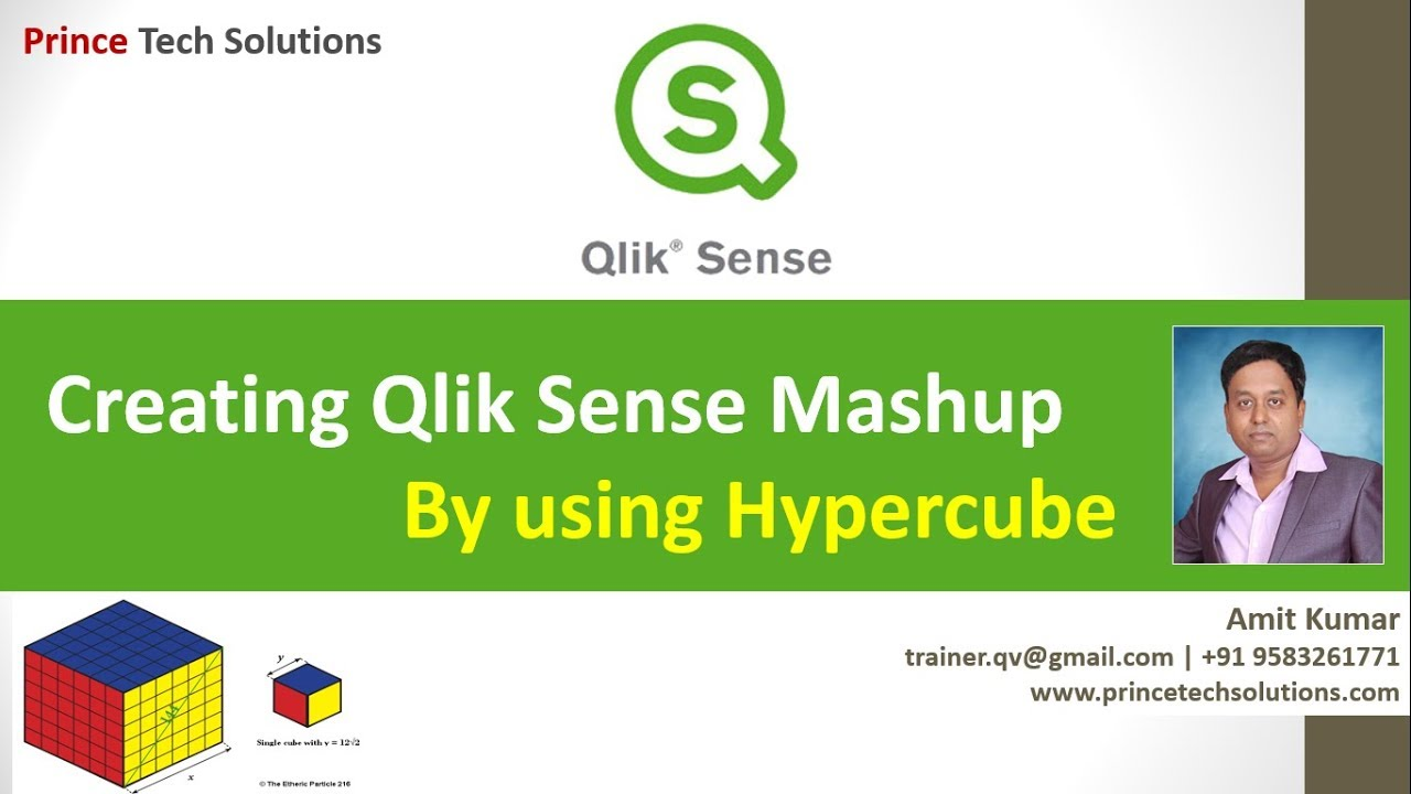 Qlik Sense Tutorial | Creating Qlik Sense Mashup by using Hypercube