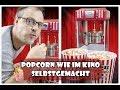 Popcorn wie im kino selbstgemacht 🍿  Klarstein Volcano Popcornmaschine   Mushroom oder Butterfly