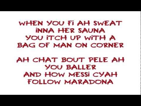 Vybz Kartel ft Keshan - The Goods Lyrics CLEAN @DancehallLyrics
