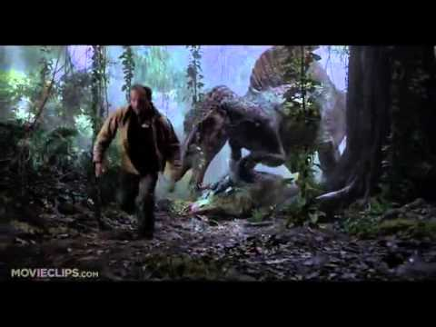 Jurassic Park 3 310 Movie CLIP   Spinosaurus vs T Rex 2001 HD 1)
