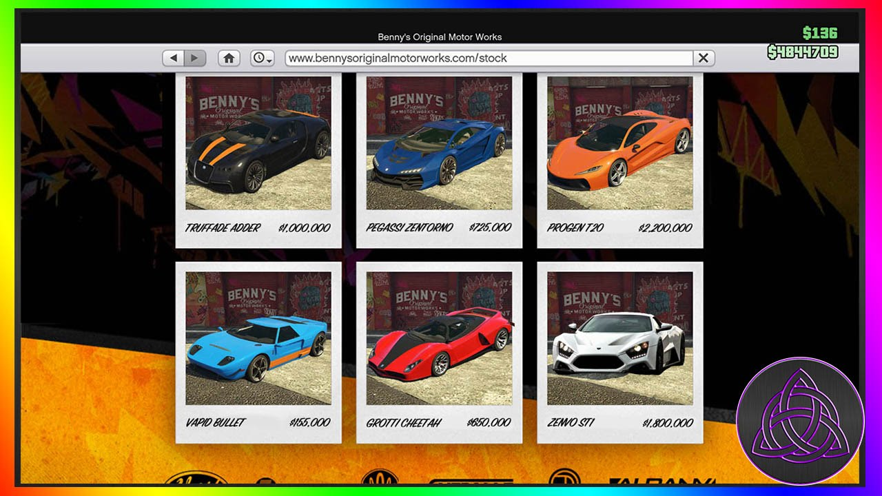 Super Cars That Should Be Added To Benny S As Hyper Cars With