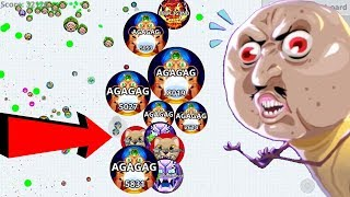 Agar.io Best Team & Solo Take Over Moments Compilation Agario Mobile Gameplay