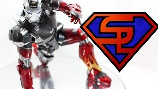 Iron Man 3 Hot Toys Mark XXII Hot Rod Movie Masterpiece 1/6 Scale Diecast Figure Review