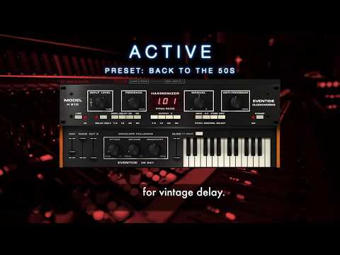 Eventide H910 Harmonizer Plug-in Suite | Sweetwater