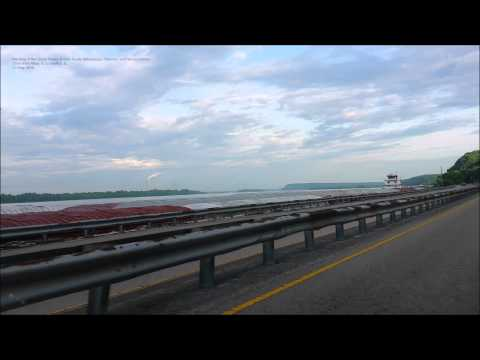 Meeting of the Great Rivers Scenic Route Drive from Alton IL to Grafton IL 23 May 2015