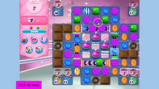 Candy Crush Saga Level 3375 16 moves NO BOOSTERS Cookie
