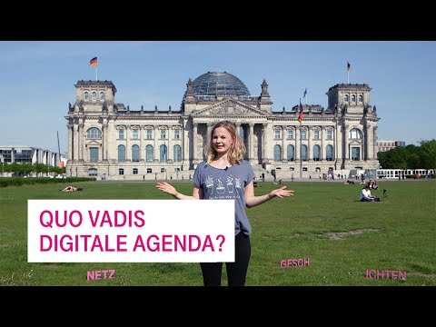 Social Media Post: Quo vadis, Digitale Agenda? - Netzgeschichten