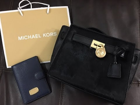 Unboxing My Last Purse For 2017 And Welcoming With A Michael Kors