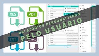 Personalizando e Exportando Relatório || UP KEY Software