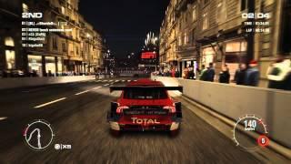 GRID 2 PC Multiplayer Race Gameplay: Tier 3 Volvo S60 BTCS in Paris, Circuit De La Seine