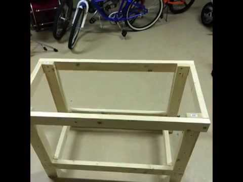 How to make a workbench for under US$30