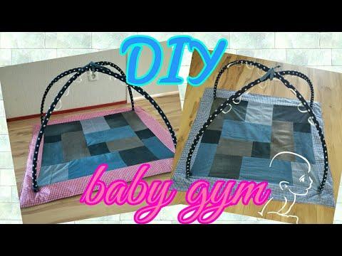 DIY baby gym