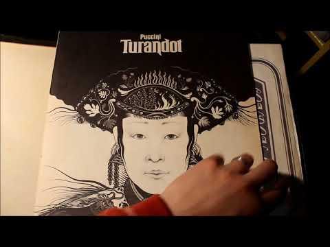 Puccini / Pavarotti - Cosi Comanda Turandot / Nessun Dorma (1973 vinyl rip)