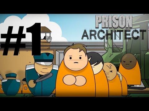 ÇETE SAVAŞLARININ OLACAĞI YENİ HAPİSHANE - Prison Architect : Türkçe Oynanış - Bölüm 1