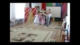 Контрданс торжественный танец для входа детей на выпускной праздник.