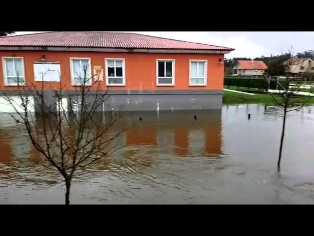 VÍDEO Inundaciones en la comarca de O Salnés