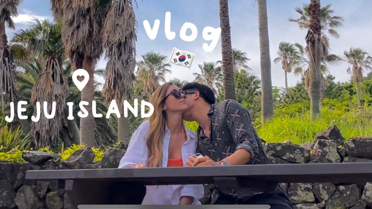 My Boyfriend and I Visted Jeju Island, South Korea Vlog 🌴🇰🇷🌊