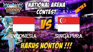 Rusuh Banget Kagura nya Ngejer ZXUAN Sampai ke Turret wkwkwk Indonesia vs Singapura National Contes thumbnail