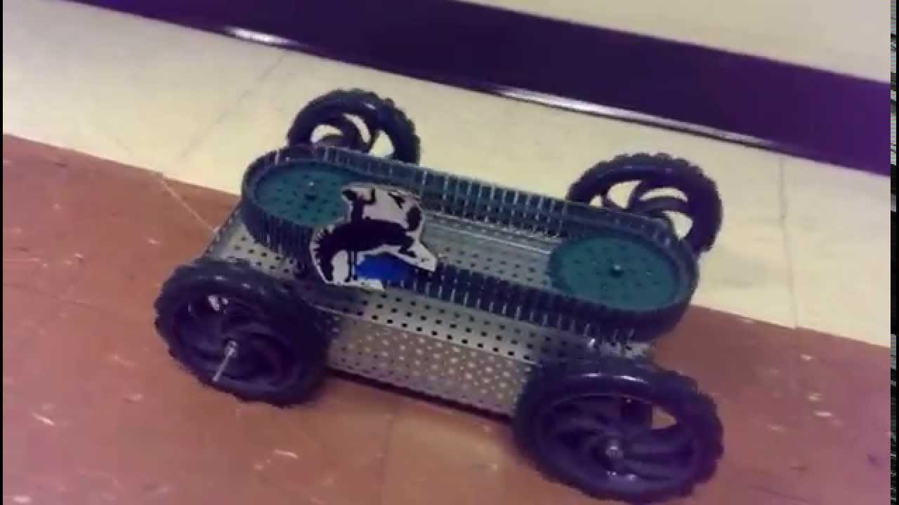 Vex Pull Toy Bucking Bronco Youtube