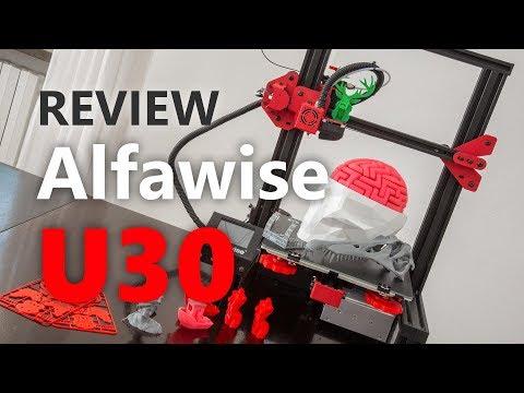Recensione stampante 3D Alfawise U30, Ender-3 killer a 160€