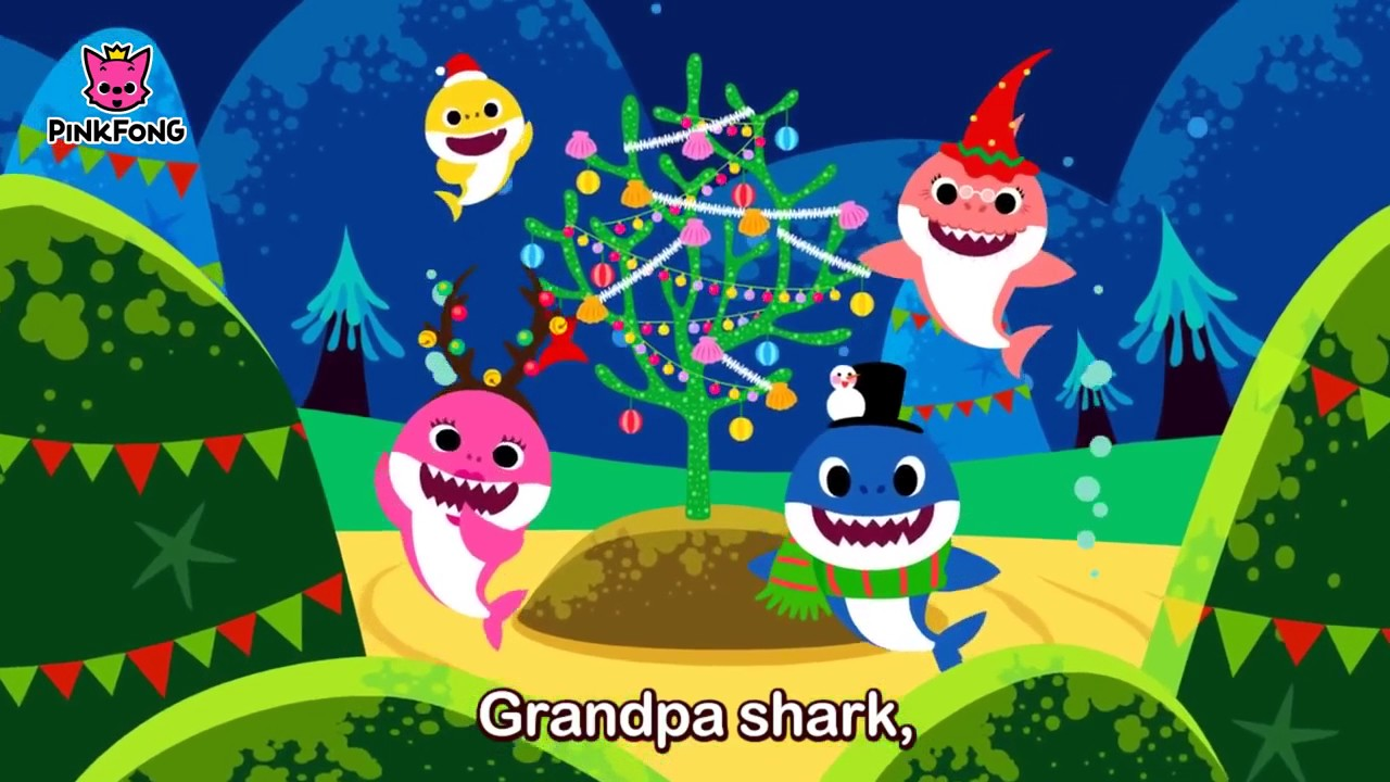 Baby Shark Christmas Sharks - YouTube