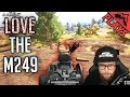 LOVE THE M249 - PlayerUnknown's Battlegrounds Gameplay #144 (PUBG Solo FPP)